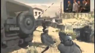 Call of duty Modern warfare 3 spec ops survival mode gameplay on late nights with jimmy fallon