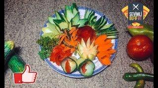 Salat üçün bəzəklər (Украшение салатов) (Salata dekorasyonu)