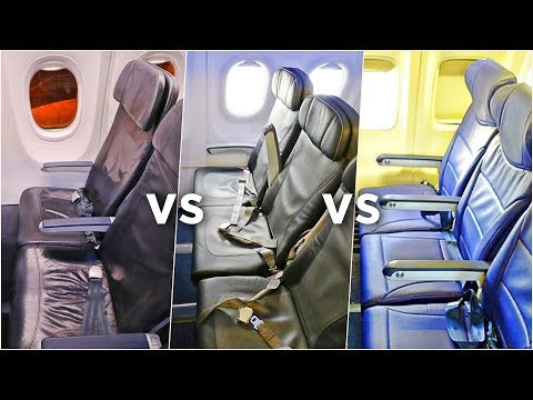 SOUTHWEST vs JETBLUE vs ALASKA AIRLINES Economy Class | Which Airline Is Best?! | Economy Week