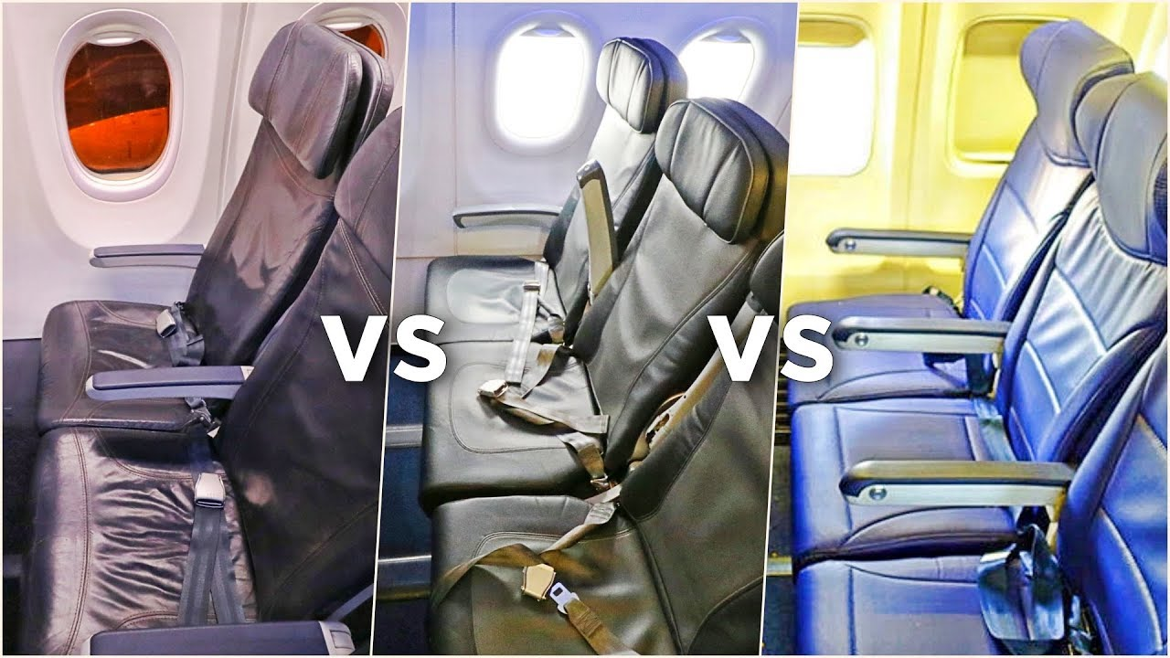 SOUTHWEST vs JETBLUE vs ALASKA AIRLINES Economy Class | Which ...