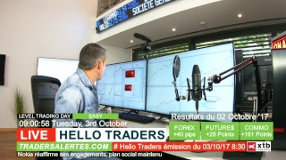 Emission Hello Traders du 3 Octobre 17