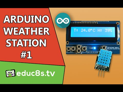 Arduino Project Temperature And Humidity Monitor Tutorial