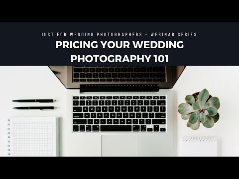 Tips on how to price your Wedding Photography Business