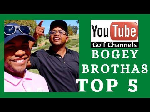 Bogey Brothas Top 5 Must Watch (Golf Channels)