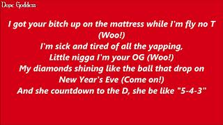 Big Sean - Bezerk Ft. A$AP Ferg & Hit Boy (Lyrics)