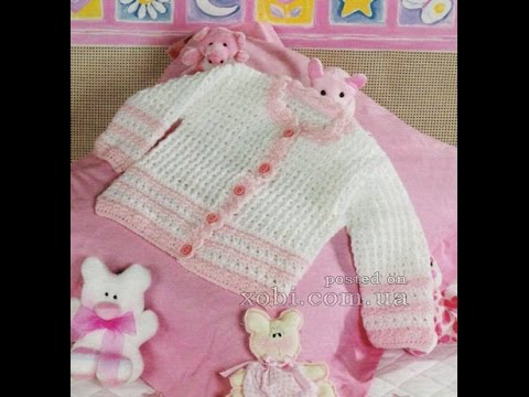 Crochet Patterns| for free |crochet baby sweater| 2332 - YouTube