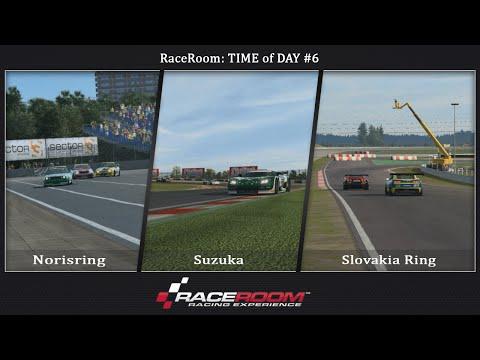 RaceRoom - Time of Day#6 (Norisring, Suzuka, Slovakia Ring)