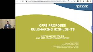 CFPB Proposed Rulemaking Highlights: Debt Collection and the Fair Debt Collection Practices Act