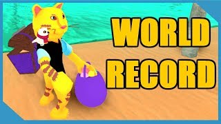 NEVER DIG THIS DEEP (WORLD RECORD) ROBLOX TREASURE HUNT SIMULATOR