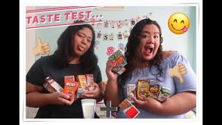 VLOG #27 -Chocolate DrinkSSS TASTE TEST! (12 DRINKS)