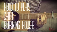How to play Burning House by Cam - Guitar Lesson Tutorial