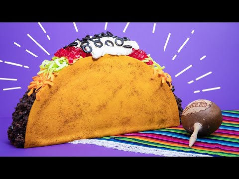 Giant Taco CAKE  How To Cake It