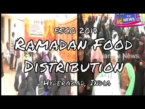 ESCO Ramadan Food Distribution - Hyderabad, India