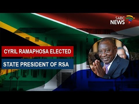 Reaction to Cyril Ramaphosa's presidency