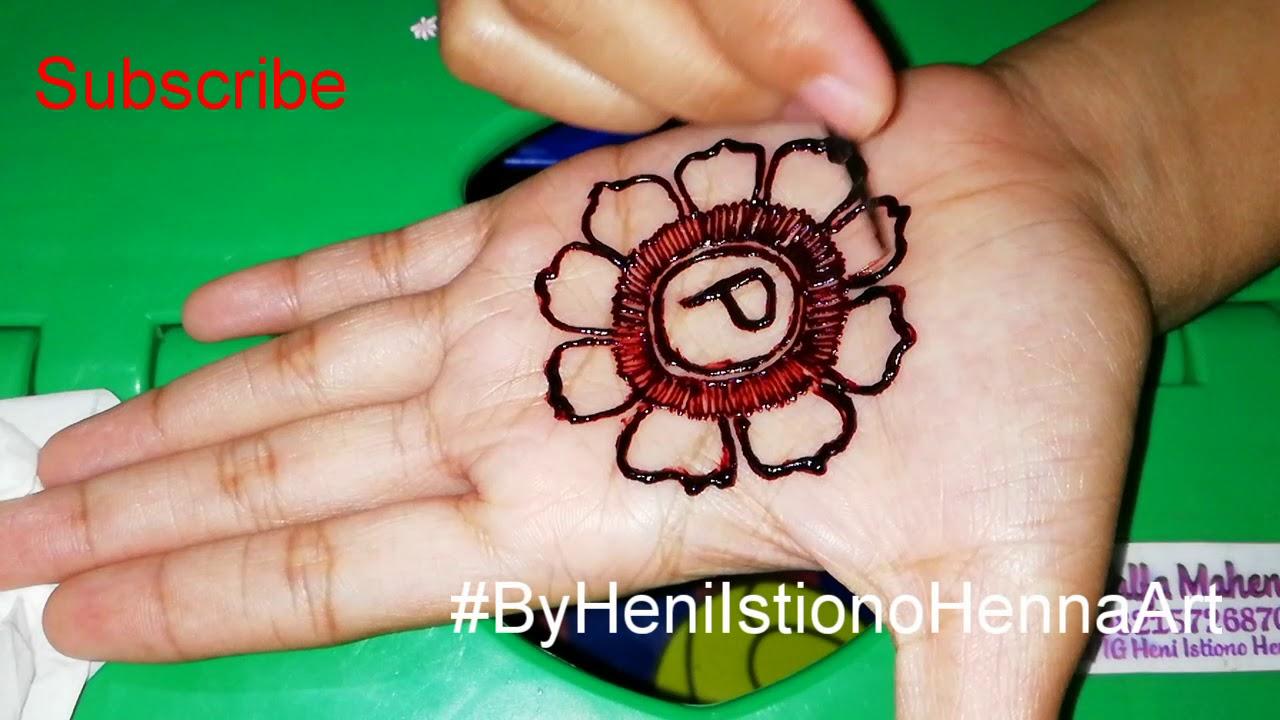 Henna Telapak Tangan For Pemula D Youtube