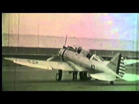 Cal-Aero Academy training Army pilots in 1942