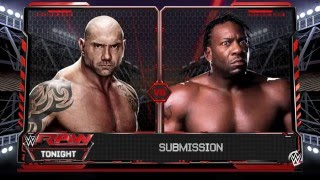 Xtreme World Heavyweight Wrestling Championship Tournament Round 1 Batista vs Booker T