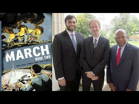 Congressman John Lewis & Andrew Aydin on March: Book One and March: Book Two at 2015 Miami Book Fair