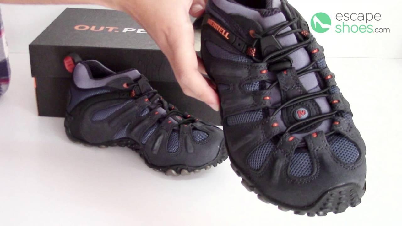 d82f48ef5cb Sneakers MERRELL Chameleon II Stretch Navy - YouTube