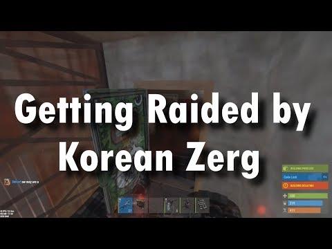 [Rust] Korea #2 - Getting Onlined by Korean Zerg