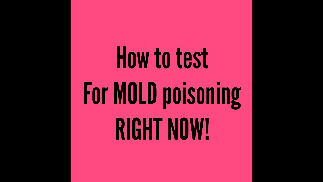 how you can test yourself for mold poisoning right now download. Black Bedroom Furniture Sets. Home Design Ideas