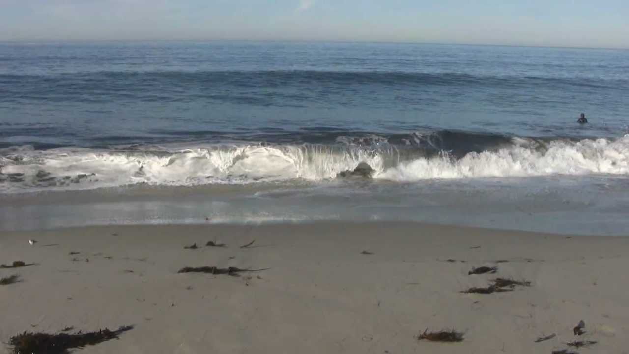 Tropical Island Beach Ambience Sound: Relaxing 3 Hour Video Of California Ocean Waves