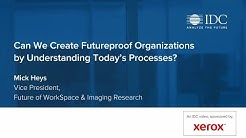 Can we create future-proof organisations? An IDC view