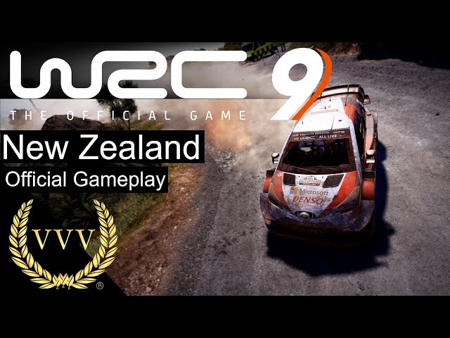 WRC 9 - New Zealand, Official Gameplay
