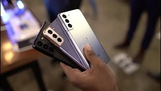 Samsung launches the S21 series in Kenya