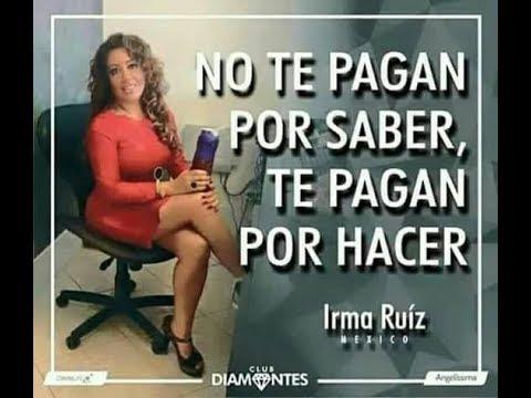 Irma Ruiz De Secretaria A Diamante Bryan Alexander Youtube