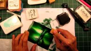 "Stampscapes 101: Video 13.  ""The Green Glow"""