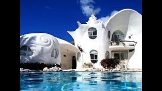 The World Famous Seashell House Casa Caracol in Isla Mujeres Mexico | Youbnb (2018)