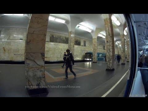 3 линии 2 пересадки. Поездка на метро Коломенская-Павелецкая-Комсомольская-Лубянка