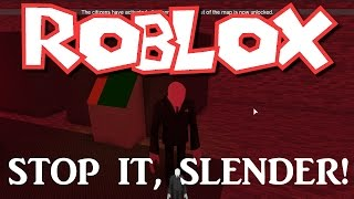 Team SBG Plays Roblox: Stop it, Slender! (Family Multiplayer)