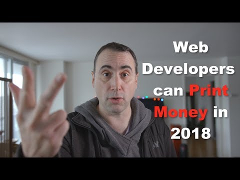 How Can Freelance Web Developers Print Money in 2018?