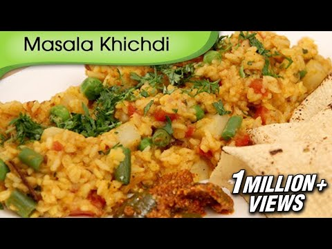How To Make Masala Khichdi | Easy To Cook Indian Rice Recipe by Ruchi Bharani