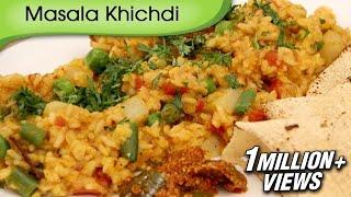 كيفية جعل ماسالا Khichdi | الخضار Khichdi | سهلة لطهي الأرز الهندي وصفة من قبل Ruchi Bharani