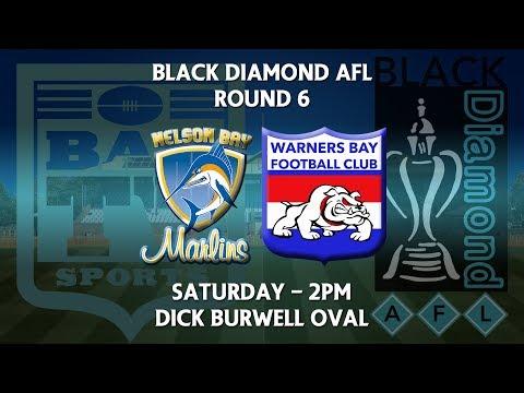 2018 Black Diamond AFL First Grade Round 6 - Nelson Bay Marlins v Warners Bay Bulldogs