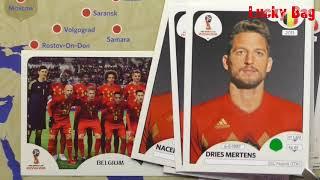 Panini Sticker Album Fifa World Cup 2018 Russia Gruppenspiel Belgien gegen England Gruppe G