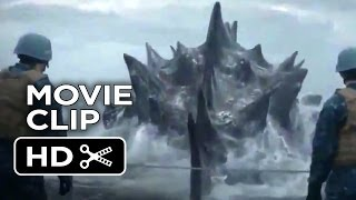 Godzilla International Movie CLIP - Out Of The Water (2014) - Bryan Cranston Movie HD thumbnail