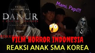 Video Reaksi Orang Korea Menonton Film Indonesia //FILM HORROR(DANUR) download MP3, 3GP, MP4, WEBM, AVI, FLV Juli 2018