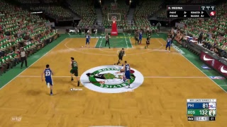 NBA 2K18 - 2017-2018 Season Playoffs - GOD SQUAD - Game 5 - Eastern-Conference Semi Finals (NO COMM)