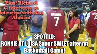 HULICAM: Ronnie Alonte at Loisa Andalio SWEET NA SWEET after ng Basketball Game