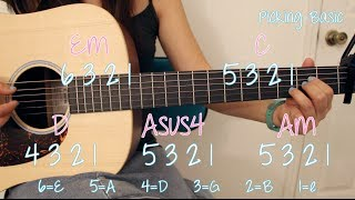 """Let It Go"" (Frozen) - Idina Menzel EASY Guitar Tutorial/Chords & GIVEAWAY! [Closed]"