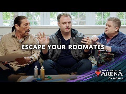Escape Your Roommates — MTG Arena on Mobile
