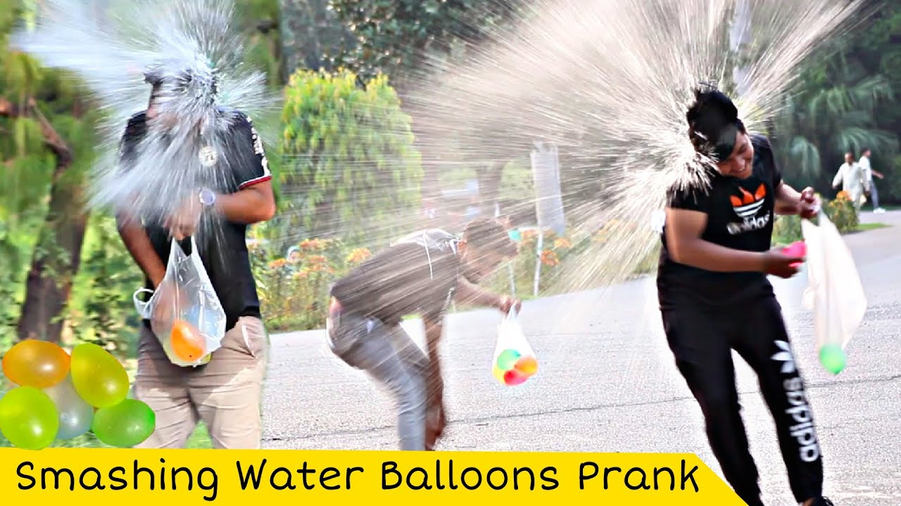 Water Balloon Fight Prank | Part 2 | Prank In Pakistan @That Was Crazy