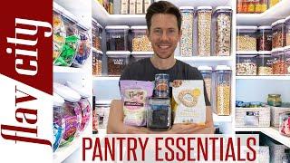 Quarantine Pantry Raid - Healthy Pantry Essentials