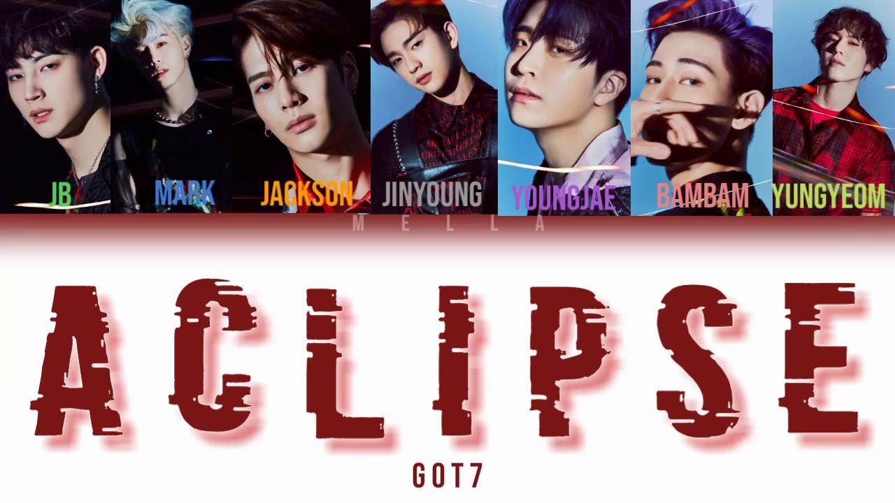 Got7 Eclipse Album - 0425