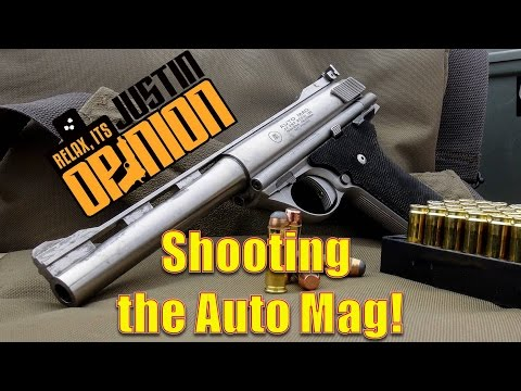 44 AUTO MAG - Lots of Shooting!