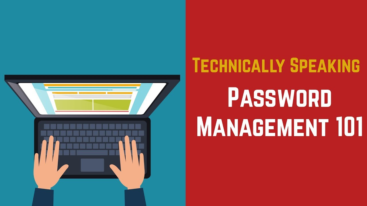 Technically Speaking - Episode 4 (Password Management 101) Video Preview